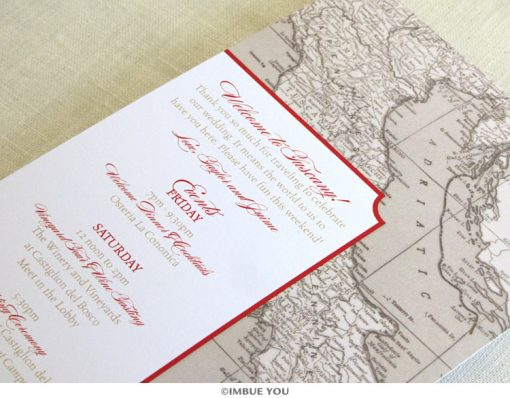 Italy Florence Tuscany itinerary card by Imbue You